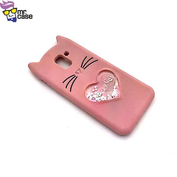 قاب گوشی گربه آکواریومی سامسونگ J6