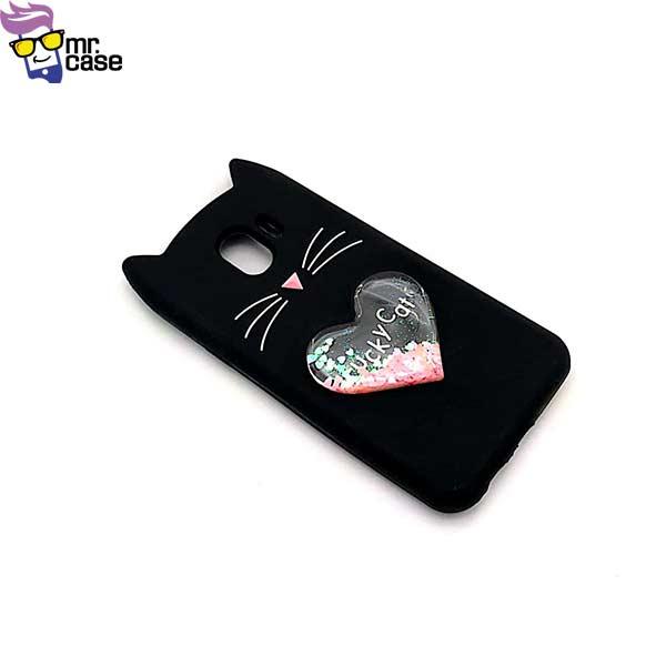قاب گوشی گربه آکواریومی سامسونگ J4