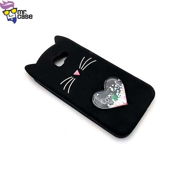 قاب گوشی گربه آکواریومی سامسونگ A720